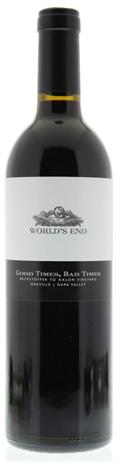 Worlds End Cabernet Sauvignon Good Times Bad Times